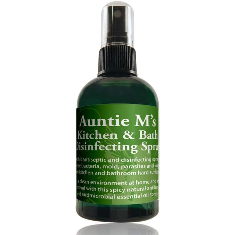 Auntie M's Kitchen and Bath Disinfecting Spray
