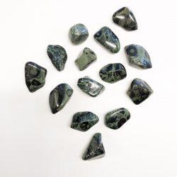 Kambamba jasper tumbled stone