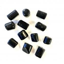 Black Tourmaline High-Quality Tumbled Pieces