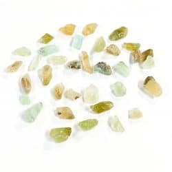 Green Calcite Natural Pieces