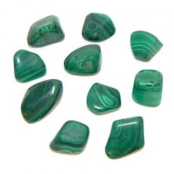Malachite Tumbled Stone