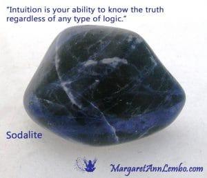 Sodalite Gemstone Affirmation Margaret Ann Lembo