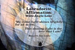 Labradorite Gemstone Affirmation Meme