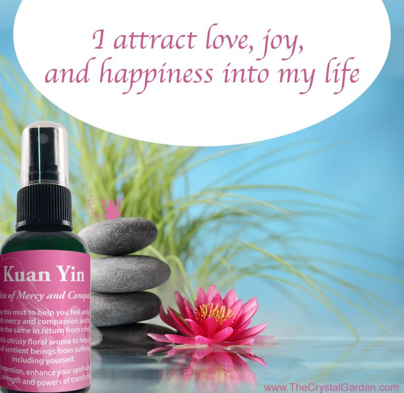 Kuan Yin Aromatherapy Spray