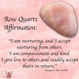 Rose Quartz Affirmation Meme