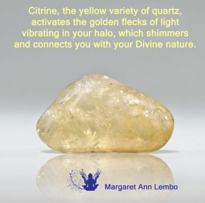 Citrine gemstone Affirmation