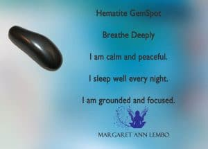 Hematite gemstone Affirmation