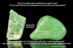 Amazonite Gemstone Affirmation