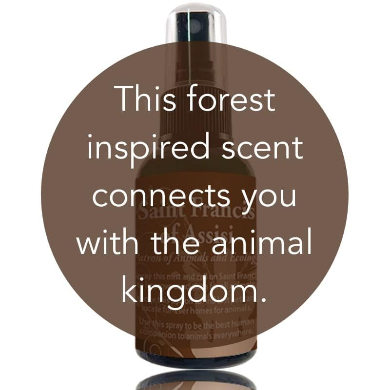 This forest inspired scent connects you with the animal kingdom.