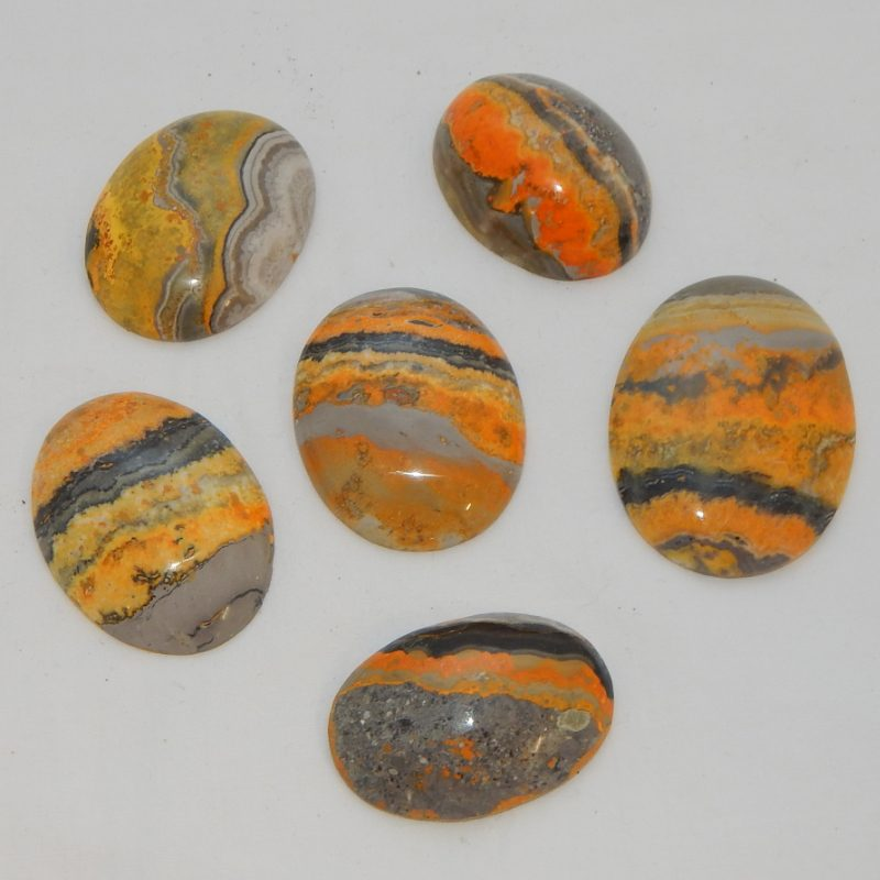 Bumble Bee Agate Cabochon