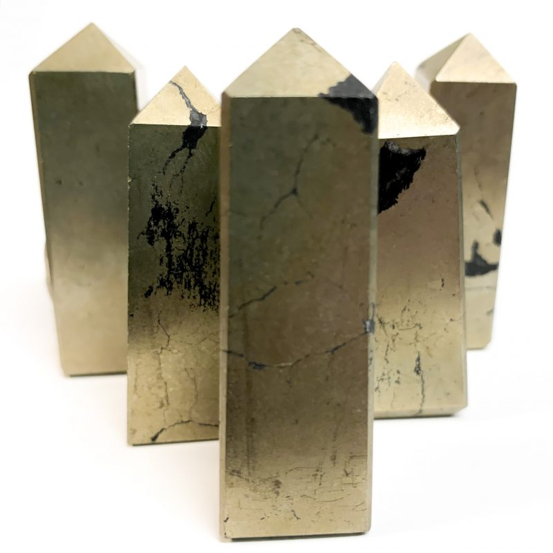 Pyrite Standing Points