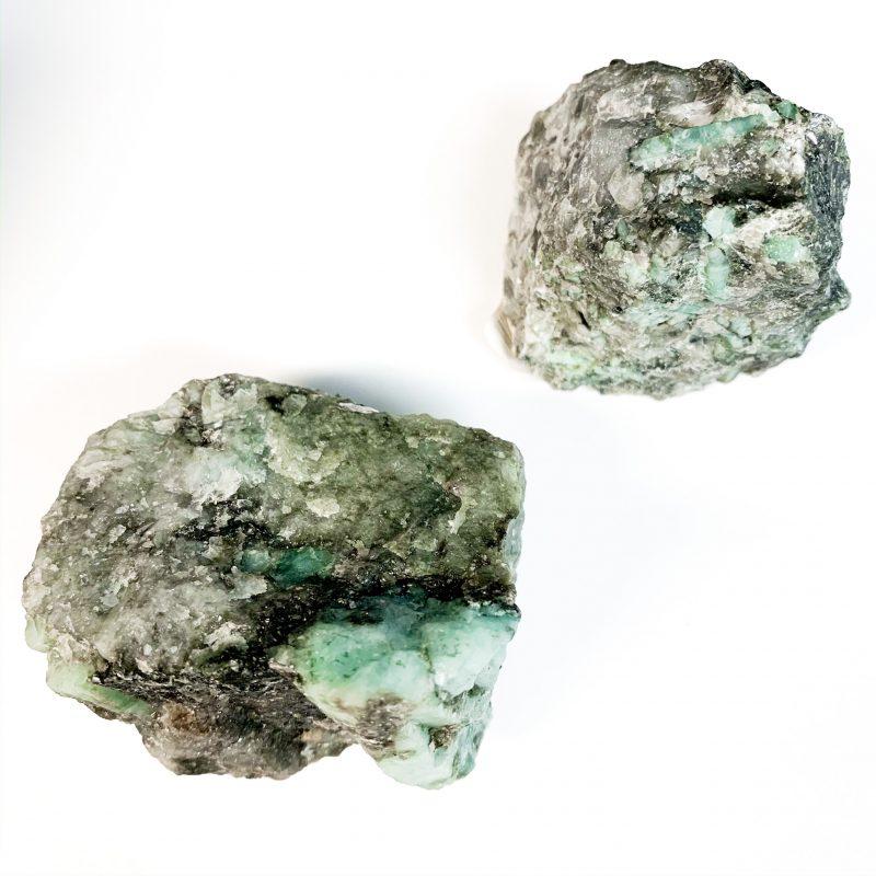 Emerald Chunks Raw