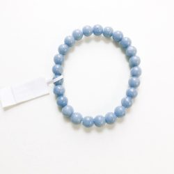 Angelite Bracelet 8 mm beads