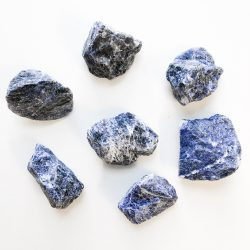 Sodalite rough natural stone