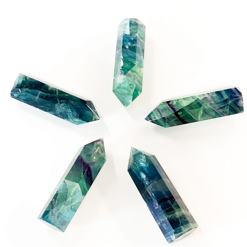Fluorite Standing Points alternate view