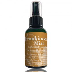 Frankincense Mist 2 oz bottle The Crystal Garden Brand