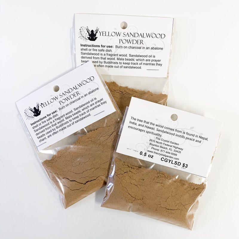 Yellow Sandalwood Powder