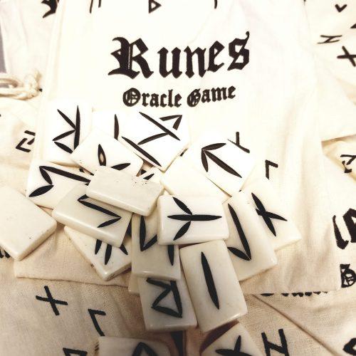 Bone Rune Set of 24