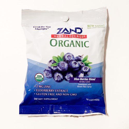Zand Organic Zinc Lozenges