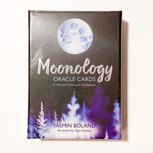 Moonology Oracle Cards front
