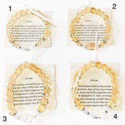 Citrine Bracelets 1 - 4