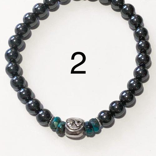Men's Hematite Bracelet Number 2
