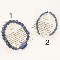 Kyanite Bracelets 1 and 2