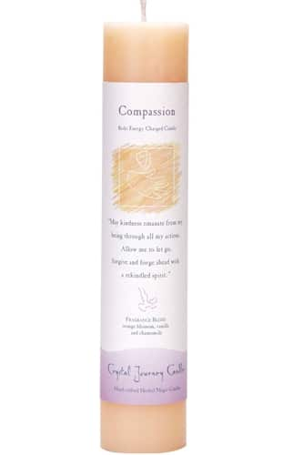 Compassion Tall Pillar Candle P005-2