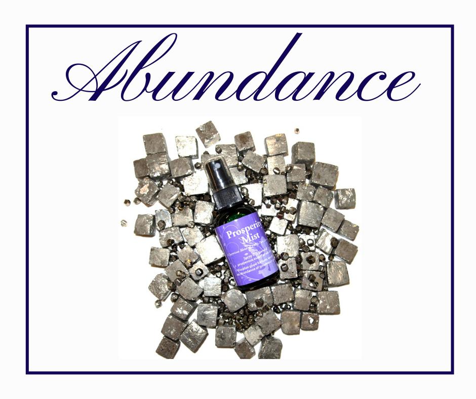 Abundance with Pyrite and Prosperity Mist