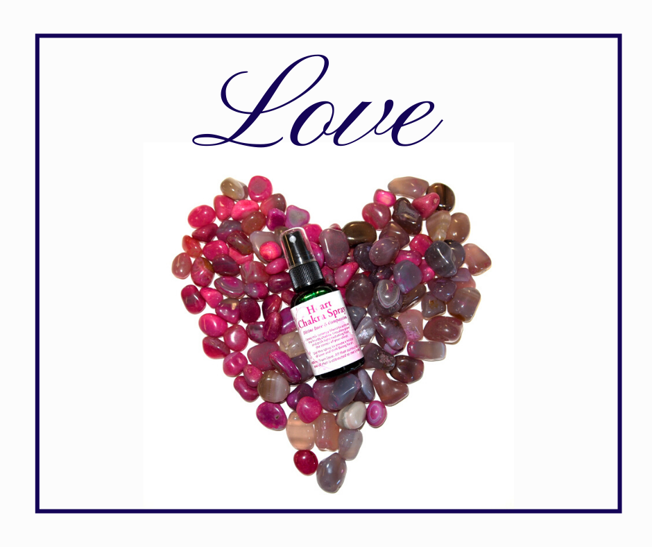 Love with Magenta Agate and Heart Chakra Spray