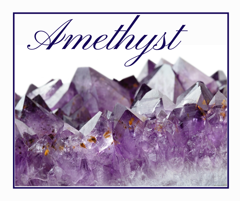 Amethyst with large amethyst cluster
