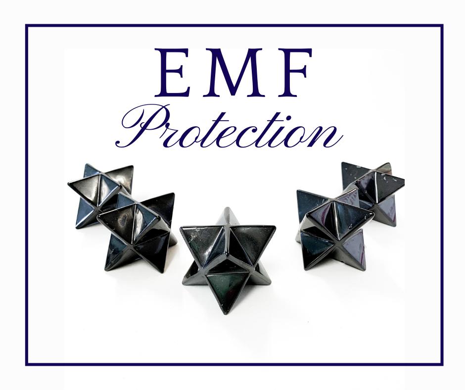 EMF Protection with Shungite Merkabas