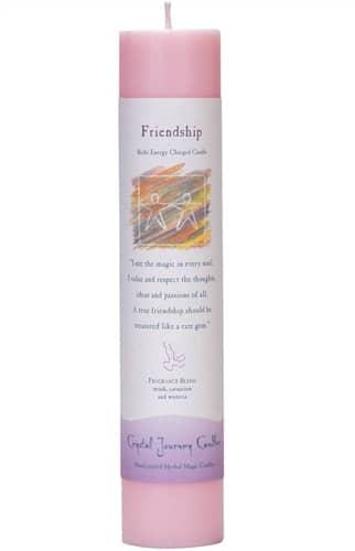 Friendship Tall Pillar Candle P008-2