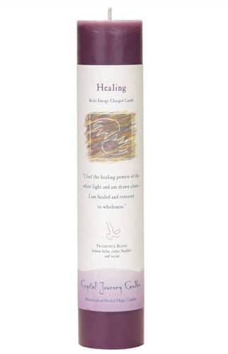 Healing Tall Pillar Candle P011