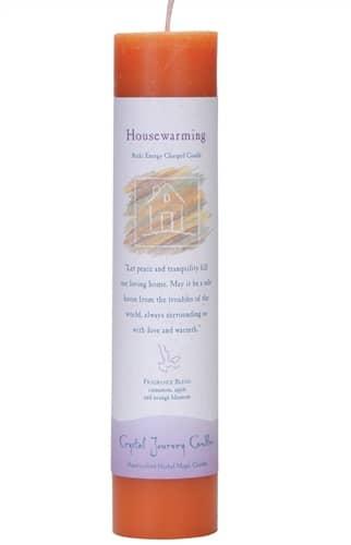 Housewarming Tall Pillar Candle P012