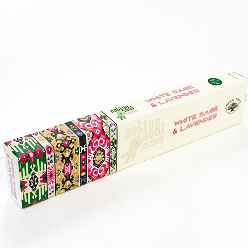 Native Soul White Sage & Lavender Incense