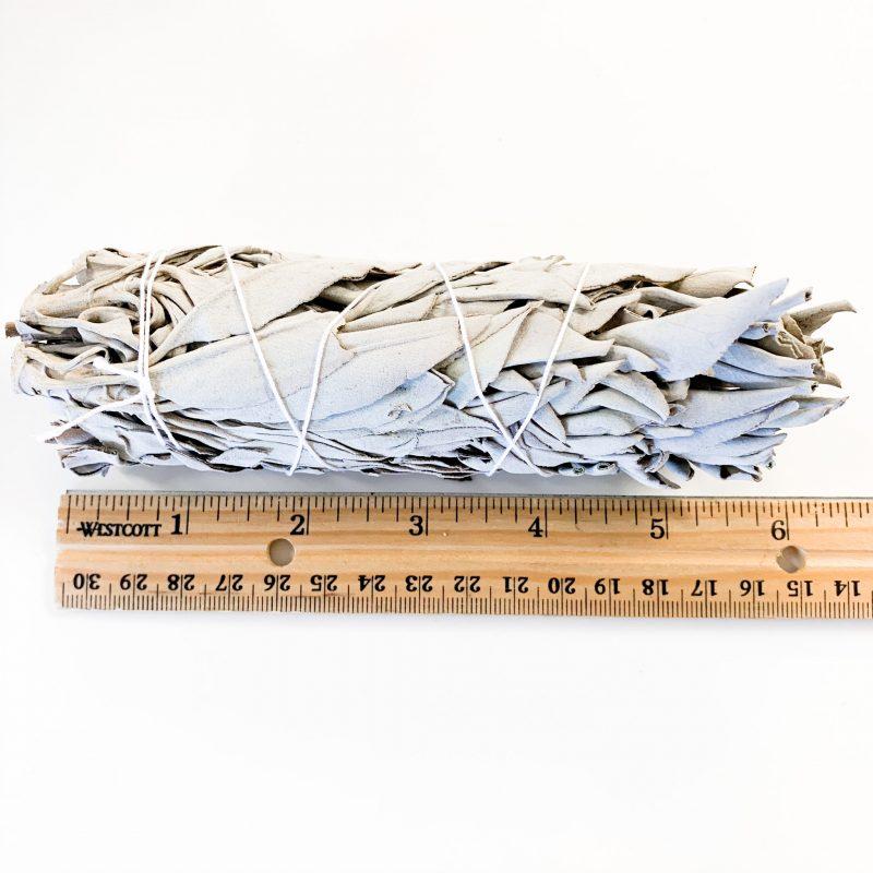 Medium White Sage Bundle with Ruler
