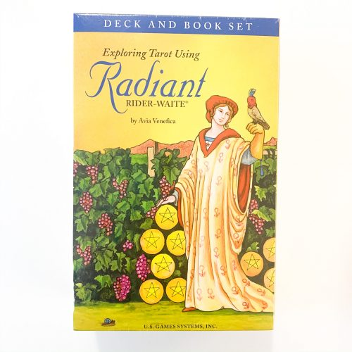Radiant Rider-Waite Book & Deck set
