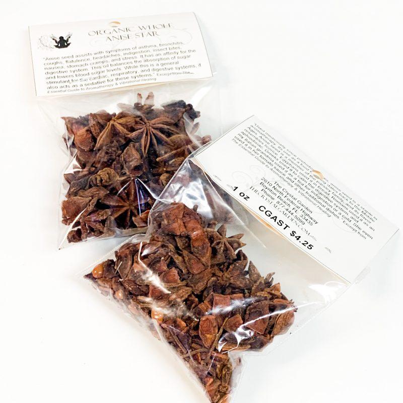 Anise Star Organic Whole