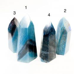 Blue Quartz Standing Points