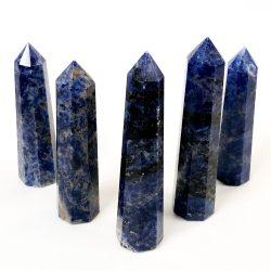 Sodalite Obelisks Standing
