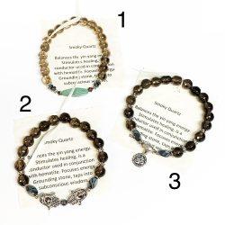 Smoky Quartz Bracelets