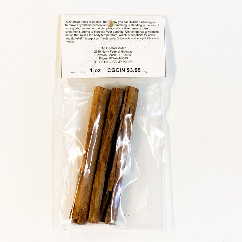 Cinnamon Sticks Back
