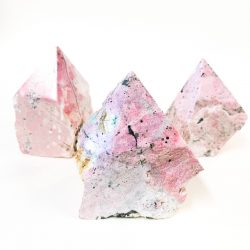 Rhodonite Semi Polished Points