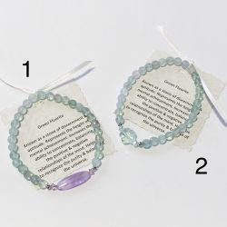 Fluorite Bracelet 6mm Generous Size