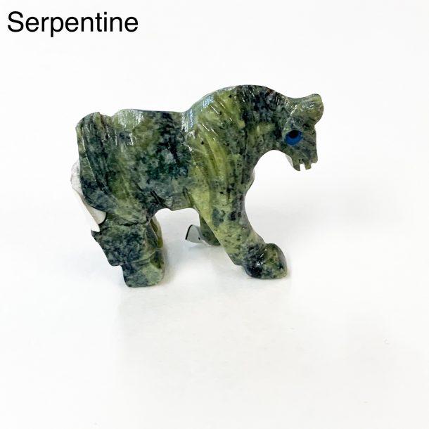 Gemstone Horse - Serpentine