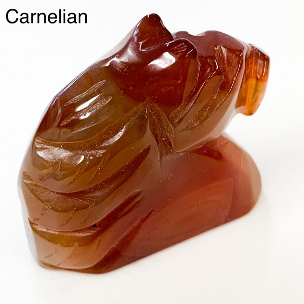 Gemstone Horse Head - Carnelian