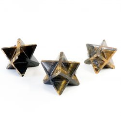 Gold Tiger's Eye Merkaba