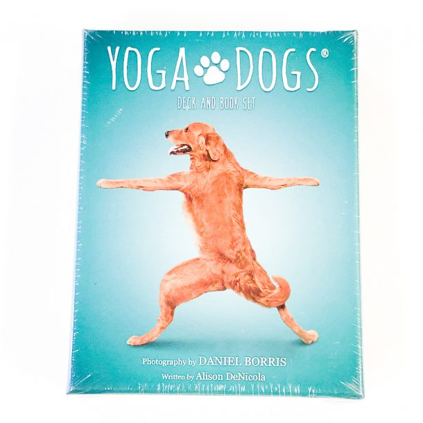 Yoga Dogs Book and Deck