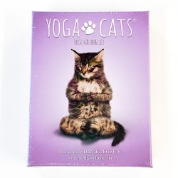 Yoga Cats Book and Deck